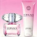 VERSACE CRYSTAL Bright lady set (30ml edt + 50ml b/lotion)