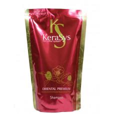 KeraSys Шампунь ЗАПАСКА Oriental Premium восст.поврежд.волосы и укрепл.корни 500мл красн.NEW
